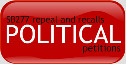 political processes to repeal sb 277